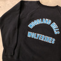 80's WOODLAND HILLS WOLVERINESスウェット