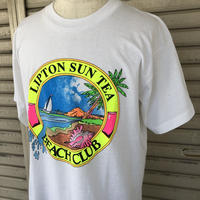 〜90's LIPTON SUN TEA BEACH CLUB Tシャツ