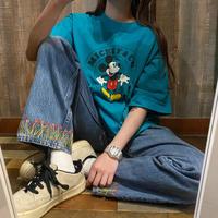 USA製ミッキープリントTシャツ