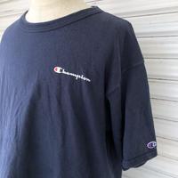 90's〜00's チャンピオンワンポイント無地Tシャツ XL
