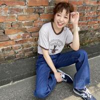 〜80's RUSSELL 金タグリンガーTシャツ