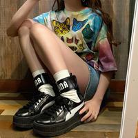 猫タイダイTシャツ