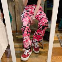 迷彩柄パンツ ピンク
