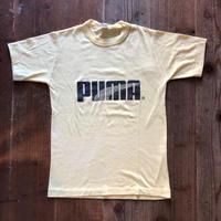 80's PUMA ロゴプリントTシャツ