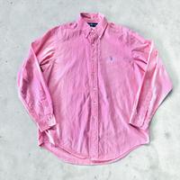 RALPH LAUREN ボタンダウンシャツ シェルボタン  L