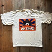70年代〜80年代 SUN RECORDS 音楽レーベルTシャツ