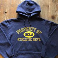 80年代UCLAフロッキープリントフーディー