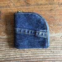 Dirty Leather denim coin case③