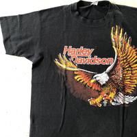 80's HARLEY DAVIDSON プリントTシャツ L