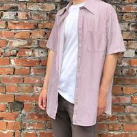70's TOWN CRAFT半袖ストライプシャツ