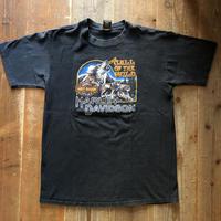 90s HARLEY DAVIDSON プリントTシャツ