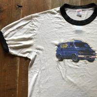 80年代 BEASTIE BOYS  白×黒リンガーTシャツ