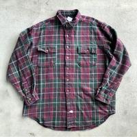Polo ヘビーネルシャツ L