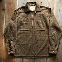 60's〜Vintageハーフジップウールシャツ