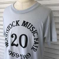 1989 ウッドストック 20周年記念Tシャツ