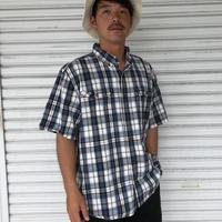 Carhartt 半袖チェックシャツ XL