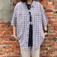 Carhartt 半袖チェックシャツ L