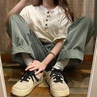Levi'sヘンリーネックTシャツ
