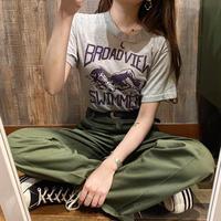 80年代スイマープリントTシャツ
