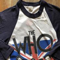 THE WHO AMERICAN TOUR '82 ラグランバンドTシャツ