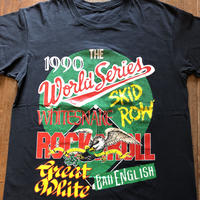 1990 WORLD SERIES 豪華バンドプリントTシャツ