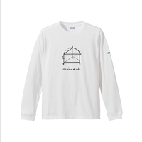 "Long Sleeve T-shirt ""No Piece of Cake""  - White -"