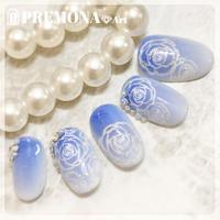 【10枚セット】エレガントローズ(ブルー)/SET1890-1899