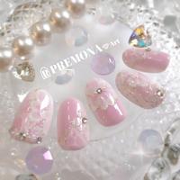 【10枚セット】ペールパステルレース(ピンク)/SET1120-1129