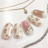 【10枚セット】レオパード(ブラウンピンク)/SET580-589