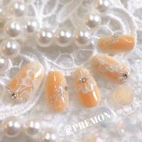 【10枚セット】ペールパステルレース(オレンジ)/SET1150-1159