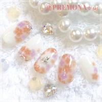 【10枚セット】紫陽花(あじさいオレンジ)/SET1400-1409