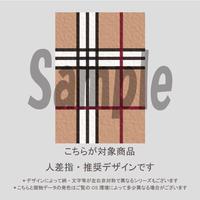 【人差指用】秋カラーラインチェック(ベージュMIX)/761