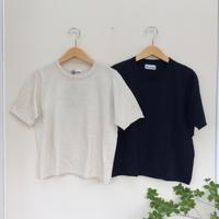 リネンラミーサマーニットTシャツ