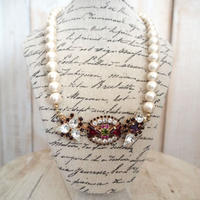 cotton pearl bijoux necklace petite 33④