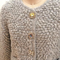 loop bijoux Cardigan grey