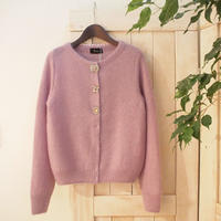 mohair bijou Cardigan lilac