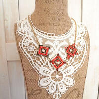 double chain bijoux necklace