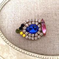 bijou brooch ④  blue drop