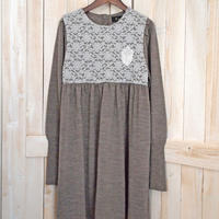lace Onepiece brown