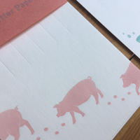 KPM054 Small Letter Paper(5枚入り)