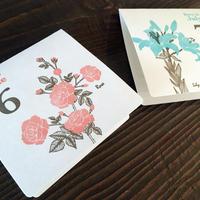 KPM053 お花のバースデーカード