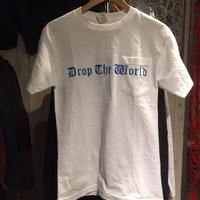 DROP THE WORLD ロゴポケットT