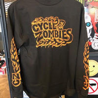 Cycle Zombies BACKFIRE L/S Tシャツ