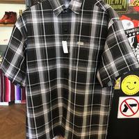 CALTOP COLORBASE チェックシャツ BLACK