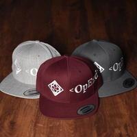 6PANEL SNAPBACK【OpEnd-LOGO CAP KAMON】