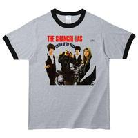 【The Shangri-Las/シャングリラス】5.3オンス Tシャツ/GYBK/RT- 449