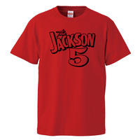【ジャクソン5/JACKSON 5】5.6オンス Tシャツ/RD/ST- 662