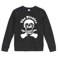 【The Pirates-ザ・パイレーツ】9.3オンス スウェット/BK/SW-445