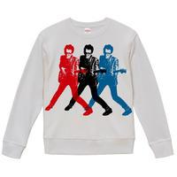 【Elvis Costello-My aim is true/エルヴィス・コステロ】9.3オンス スウェット/WH/SW-433