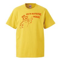 【Grateful Dead-グレイトフルデッド/GR-R-RATEFUL DEAD!】5.6オンス Tシャツ/YL/ST- 231